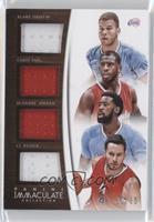 J.J. Redick, Blake Griffin, Chris Paul, DeAndre Jordan /35