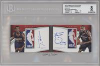 Adreian Payne, T.J. Warren [BGS 8 NM‑MT] #/1