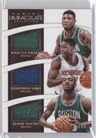 James Young, Cleanthony Early, Marcus Smart /99