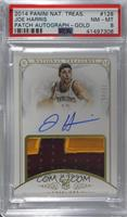 Rookie Patch Autographs - Joe Harris /25 [PSA 8 NM‑MT]