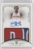 Rookie Patch Autographs - Spencer Dinwiddie /25