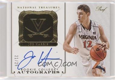2014-15 Panini National Treasures - [Base] - Gold #175 - Rookie College Autographs Proofs - Joe Harris /25