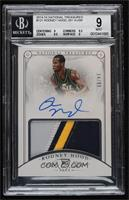 Rookie Patch Autographs - Rodney Hood [BGS 9 MINT] #/99