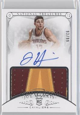2014-15 Panini National Treasures - [Base] #128 - Rookie Patch Autographs - Joe Harris /99