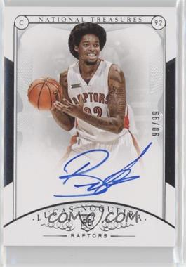 2014-15 Panini National Treasures - [Base] #150 - Rookie Autographs - Lucas Nogueira /99