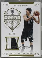 Brook Lopez [Noted] #13/25