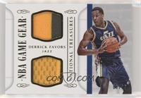 Derrick Favors #/25