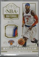 Carmelo Anthony [Noted] #/25