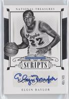 Elgin Baylor /49