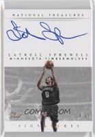 Latrell Sprewell /25