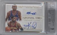 Grant Hill, Kyrie Irving [BGS 9 MINT] #/10