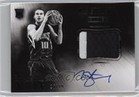 Black and White Autographed Patch Rookies - Nik Stauskas /99