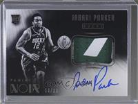 Black and White Autographed Patch Rookies - Jabari Parker /99