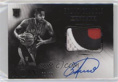 2014-15 Panini Noir - [Base] #225 - Black and White Autographed Patch Rookies - Bruno Caboclo /99