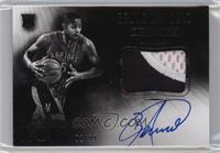 Black and White Autographed Patch Rookies - Bruno Caboclo /99