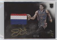 Color Autographed Patch Rookies - Spencer Dinwiddie #/99