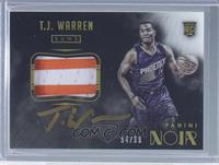 Color Autographed Patch Rookies - T.J. Warren /99