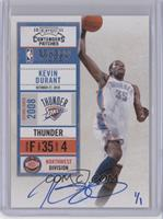 Kevin Durant (10-11 Playoff Contenders Patches) #/1