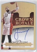 Crown Royale Autographs - Jonas Valanciunas #/10