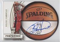 Roundball Die-Cut Autographs - Bruno Caboclo #/10