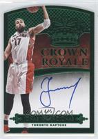 Crown Royale Autographs - Jonas Valanciunas #/5