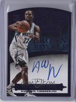 Rookie Crown Royale Autographs - Andrew Wiggins #/20