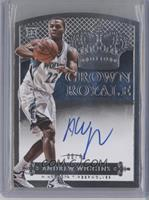 Rookie Crown Royale Autographs - Andrew Wiggins #/49