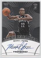 Rookie Revolution Autographs - Markel Brown #/49
