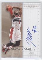 Unparalleled Veterans Autographs - John Wall #/50