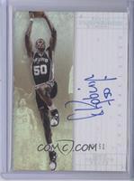 Unparalleled Legends Autographs - David Robinson #/50