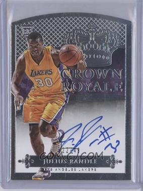 2014-15 Panini Preferred - Rookie Crown Royale #206 - Julius Randle /49