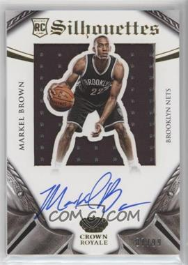 2014-15 Panini Preferred - Rookie Silhouettes #331 - Markel Brown /99