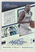 Michael Finley [Noted] #/15