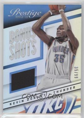 2014-15 Panini Prestige - Bonus Shots Materials Premium #5 - Kevin Durant /99