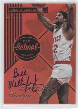 2014-15 Panini Prestige - Old School Signatures Premium #12 - Bill Willoughby /175