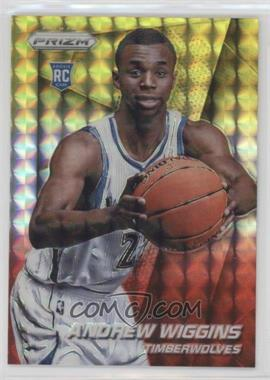 2014-15 Panini Prizm - [Base] - Yellow and Red Mosaic Prizms #251 - Andrew Wiggins