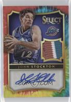 John Stockton #/25