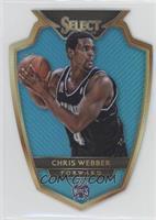 Premier Level Die-Cut - Chris Webber /199