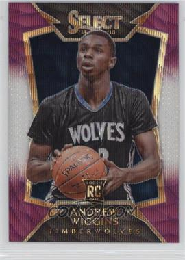 2014-15 Panini Select - [Base] - Purple and White Prizm #100 - Concourse - Andrew Wiggins