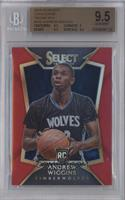 Concourse - Andrew Wiggins [BGS 9.5 GEM MINT] #/149