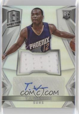 2014-15 Panini Spectra - [Base] - Rookie Jersey Autographs Prizm [Autographed] [Memorabilia] #117 - T.J. Warren