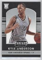 Leather Rookies - Kyle Anderson