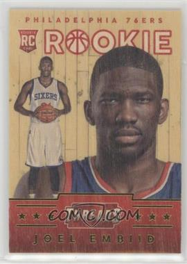 2014-15 Panini Threads - [Base] #331 - Wood Rookies - Joel Embiid