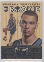 Wood Rookies - Zach LaVine