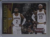 Kyrie Irving, LeBron James #/25