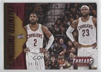 Kyrie Irving, LeBron James #/99