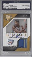Kevin Durant [PSA/DNA Certified Encased] #/10