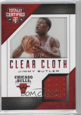 2014-15 Panini Totally Certified - Clear Cloth Jersey - Red #70 - Jimmy Butler /299