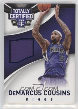 2014-15 Panini Totally Certified - Jerseys - Blue #28 - DeMarcus Cousins /199