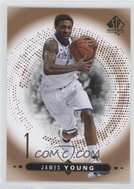 2014-15 SP Authentic - Rookie Extended Series #R16 - James Young